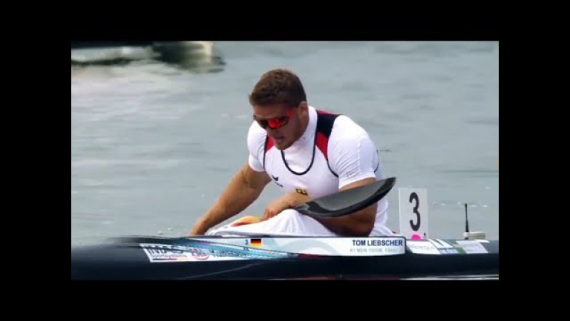 2017 ICF Canoe Sprint World Championships, Racice, Men's K-1 1000m Final A.