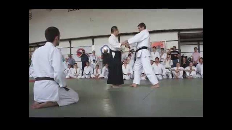 Тсутому Чида 8 Дан Ёсинкан Айкидо