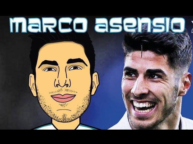 Мультбол рисует Марко Асенсио Draw Marco Asensio