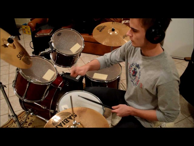 Green day - Holiday drum cover