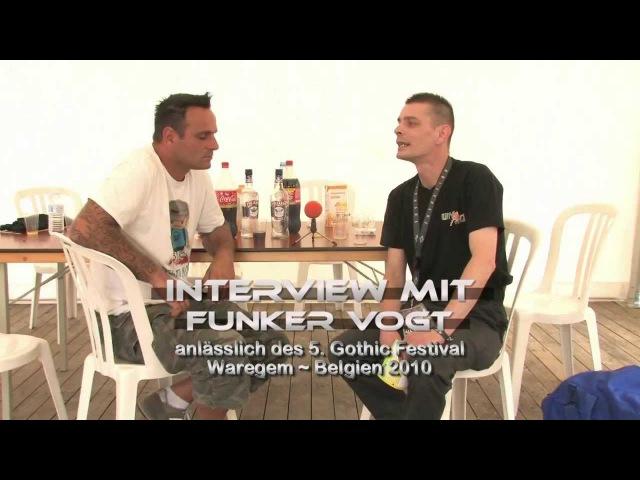 UnArt Live TV - Interview Funker Vogt, Waregem Belgien 2010