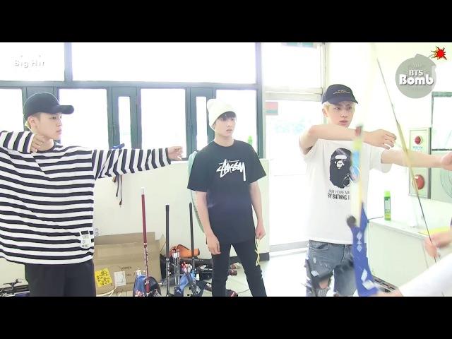 [BANGTAN BOMB] Practicing Archery @ 2016 ISAC - BTS (방탄소년단)