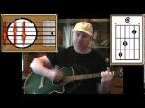 Closing Time - Semisonic - Acoustic Guitar Lesson (detuned)