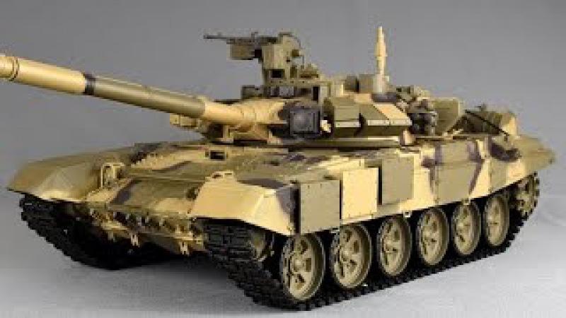 Heng Long Rc Panzer T-90 T90 1/16 UNBOXING Ausgepackt