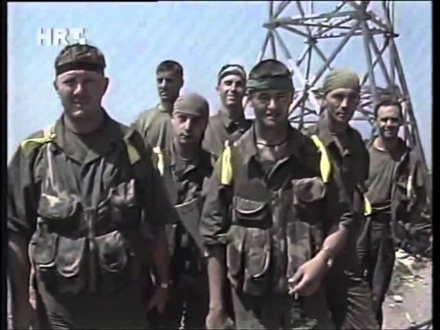 Oluja HV na Velebitu Odašiljać Čelavac 06 08 1995