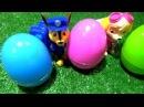 Щенячий патруль Развивающее видео Учим цвета с Киндер сюрприз. 3 серии подряд Paw P...