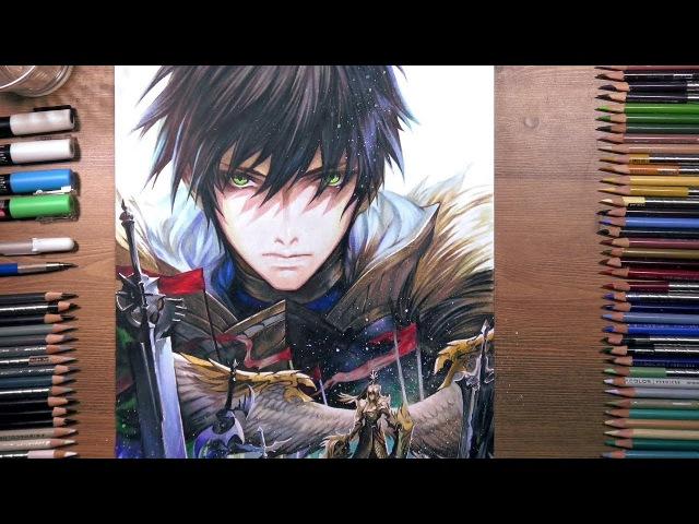 Seven Knights: Rudy - speed drawing | drawholic