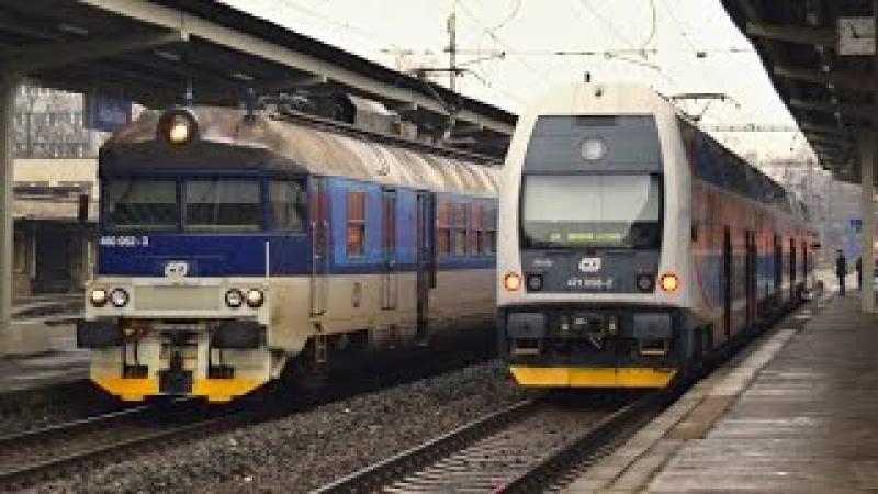 Vlaky ODKLONY Havířov, 15.02.2016