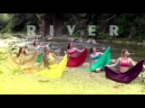 RIVER Show (Ochun) by Katya Pliushch. AfroCamp 2016 (Sheshori, Ukraine). Music IBEYI - RIVER