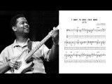 I want to hold your hand - Earl Klugh (Transcription)