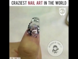 Безумный нейл-арт от Tonys Nail (handmade_for_help)