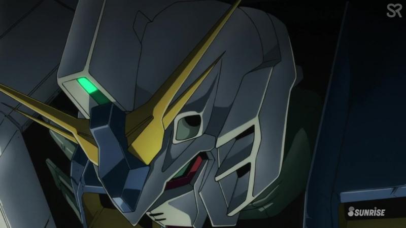 [субтитры   03] Мобильный Доспех Гандам: Сумеречный Аксис   Mobile Suit Gundam: Twilight AXIS   3 серия русские субтитры   SR