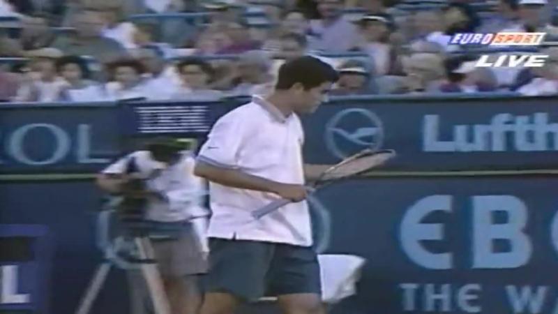 Sampras Agassi Indian Wells 1995 Final Highlights