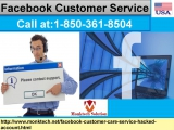 If You Irritated With FB Hurdles, Gain Facebook Customer Service 1-850-361-8504