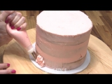 How To Make An EASY RUFFLE CAKE! - CAKE STYLE!