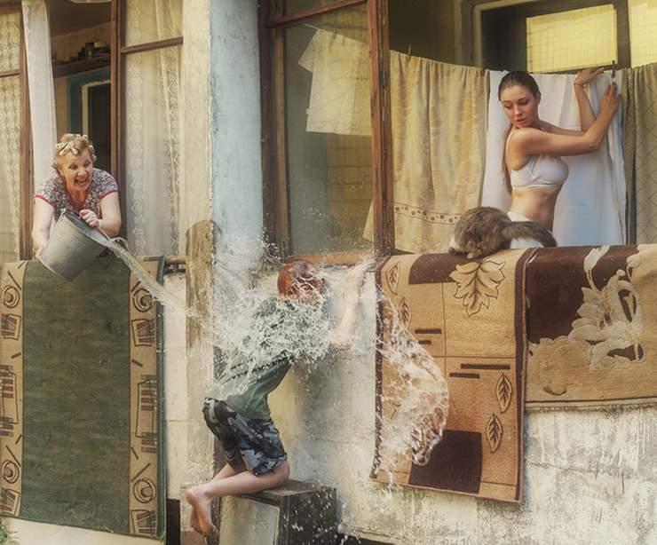 Озорные девушки Давида Дубницкого (20 фото)