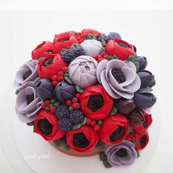 V yRlUWLdeQ - Цветочные свадебные торты (70 фото)