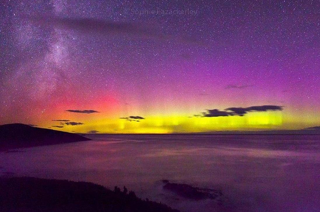 Северное сияние… в Австралии (10 фото)