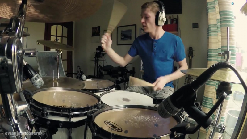 Tenacious D - The Metal - Drum Cover