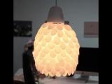 Top 5-Minute Crafts #33 Как сделать прекрасную лампу из пластиковых ложек