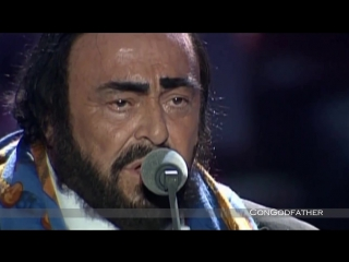 Luciano Pavarotti James Brown - Its a mans world ᴴᴰ