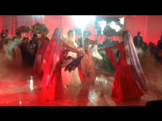 Танец жениха и невесты. Свадьба Самира и Эльнары .Safisa 12/11/2016