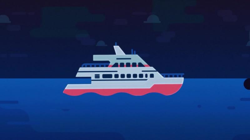 Cross the Kerch Strait