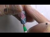 Видео мастер-класс дизайна ногтей «Зимняя вьюга»