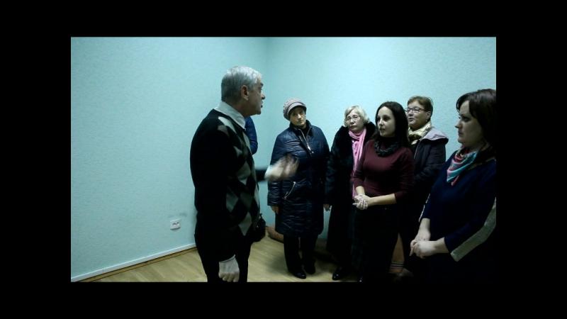 Зустріч колективу КП Новодістровський житловик із Міським головою Болдашевим 14.11.2016
