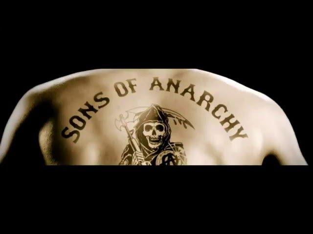 Сыны Анархии под Металл
