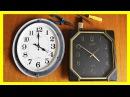 Замена часового механизма в настенных электронных часах. Ремонт часов.
