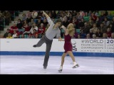 Kaitlyn Weaver &amp Andrew Poje. FD. 2012 Canadian Figure Skating Championships