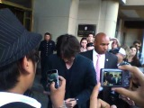 Keanu Reeves Signing For Fans