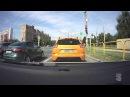 Авария В Тольятти XRAY вылетел на тротуар Жёстко подрезали на Фрунзе ДТП Тольят...