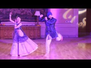 Groom & Bride Dance Performance Full HD !! New Indian Wedding Dance Beautiful Bride Payal 2017