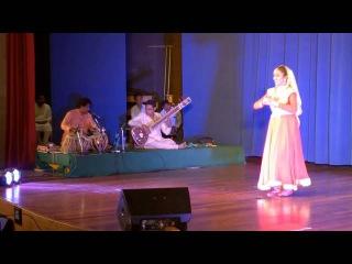Chandrajith Tabla Playing with KATHAK Dancer Shrita Baskar in Live