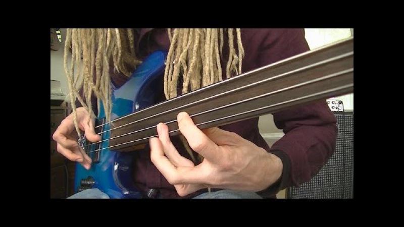 Fretless Funk Rock Bass Grooves