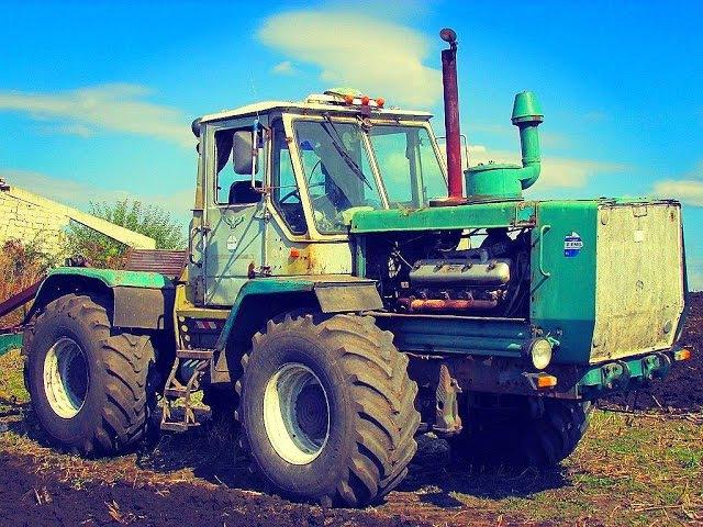 Вот это МОЩЬ! Легендарный Трактор—[ХТЗ Т-150] на бездорожье Тракторы Tractor [HTZ T-150] off-...