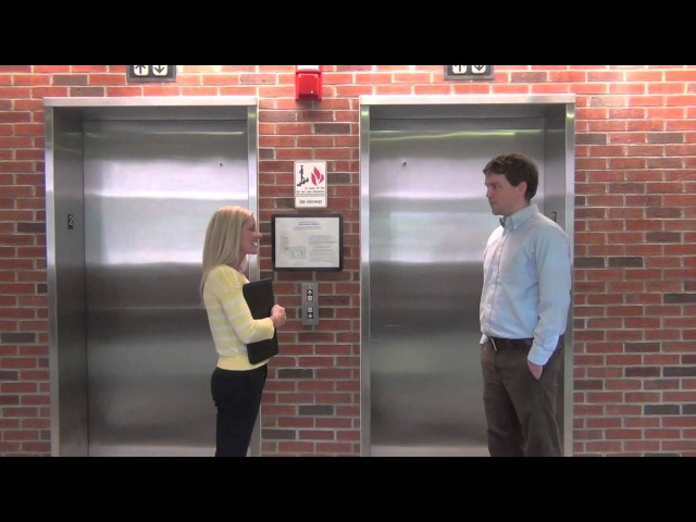 Elevator Pitch - Good Example