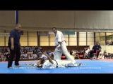 Alejandro Navarro was knocked by Djema Belkhodja KO