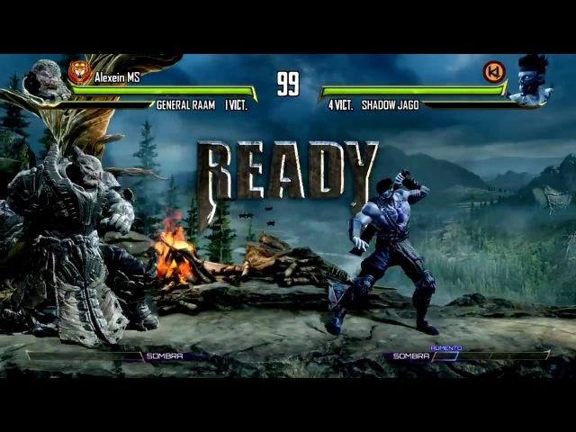 Killer Instinct Season 3 FT10 series Shadow Jago Version vs Gyratejupiter (General RAAM)