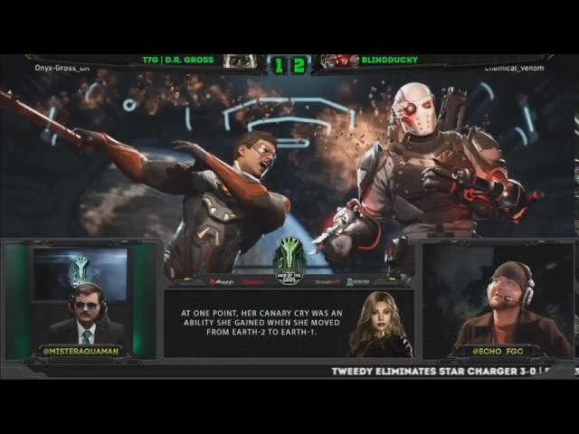 Injustice 2 War of the Gods week 5 Top 16 ft Semiij, Dragon, Iluusions and more