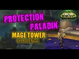 Protection Paladin PoV (917 ilvl)  Tank - Mage Tower Artifact Challenge  Highlord Kruul