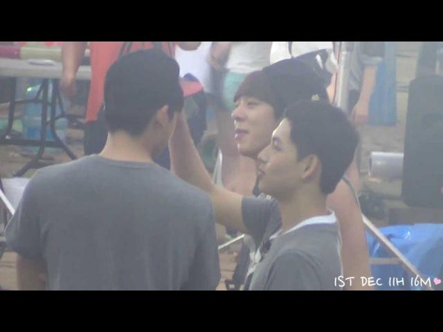 130804 출발 드림팀 ZEA 임시완(Siwan) 박형식(Hyungsik) 귀여운