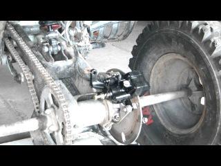 Wymiana Zacisku Hamulcowego oraz linki|ATV|Quad|Bashan-200