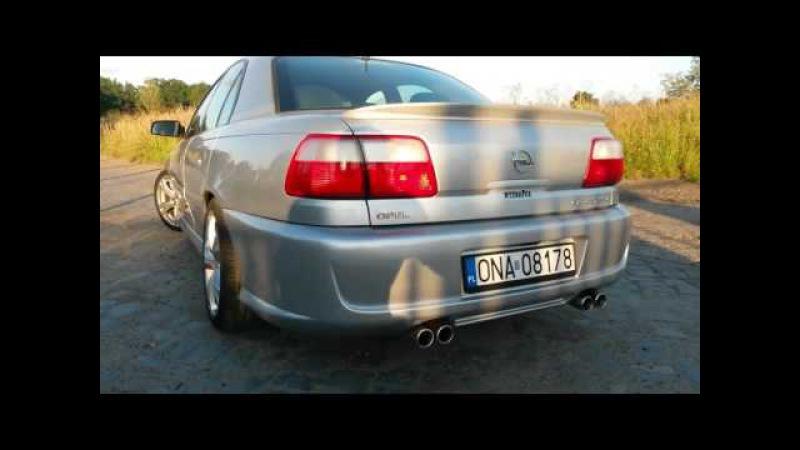 Opel Omega B FL V6 dzwiek silnika i wydechu