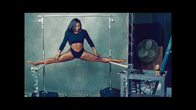 Training Usain Bolt Serena Williams