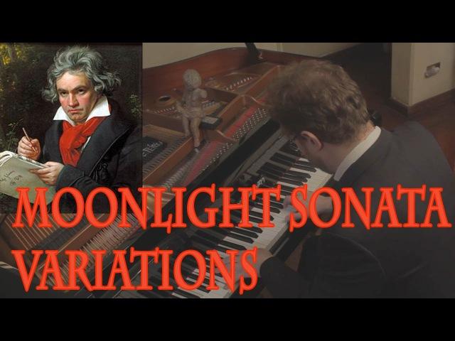 Beethoven - Moonlight Sonata in 5 Versions