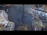 День соборности в Одессе живая цепь у Дюка