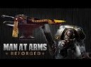 Warhammer 40K Chainsword - MAN AT ARMS: REFORGED